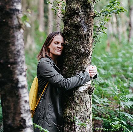 Naturcoaching bewegen-erleben -finden Baummeditation